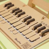 YUDO KAMI-OTO DIY Cardboard Keyboard