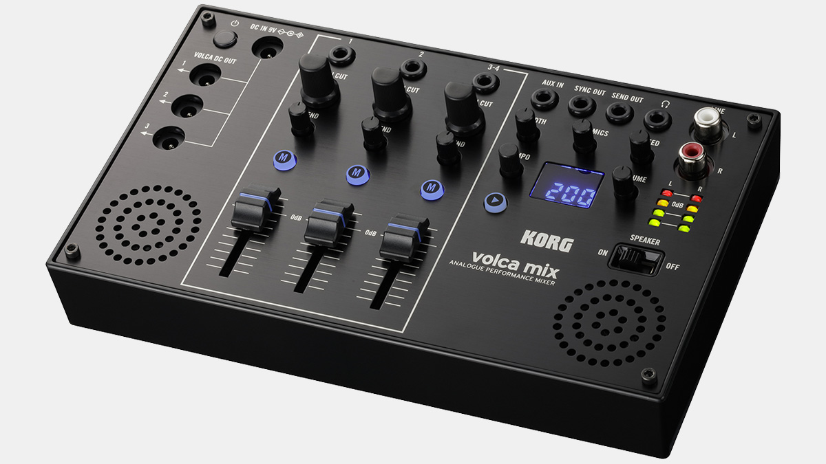 KORG Volca Mix: Compact Analogue Performance Mixer