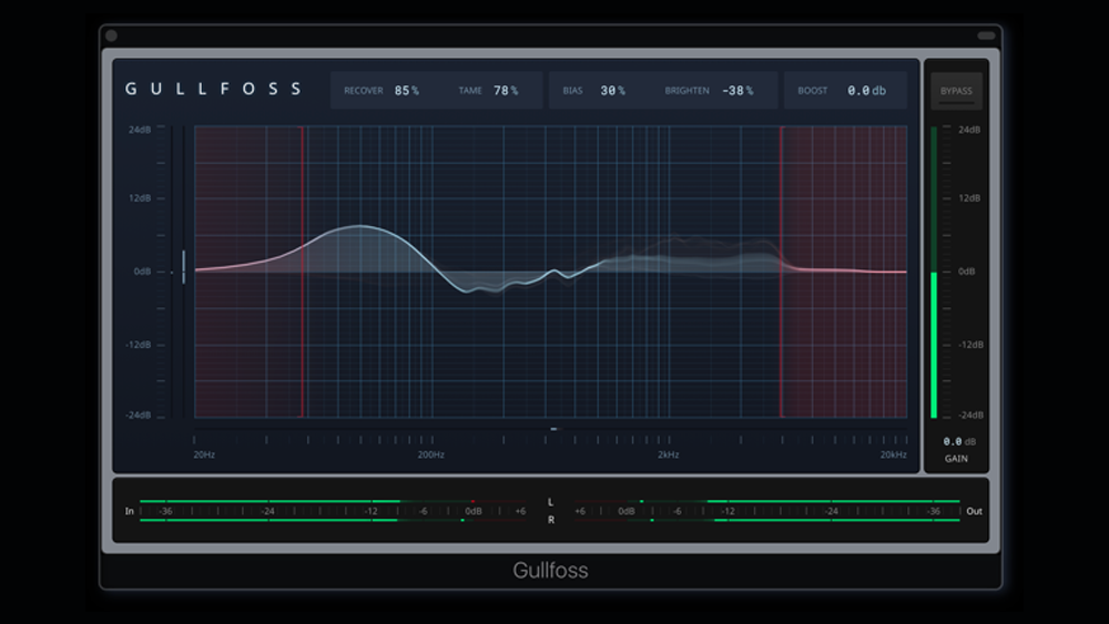 Soundtheory Gullfoss: Intelligent Automatic Equalizer Plugin