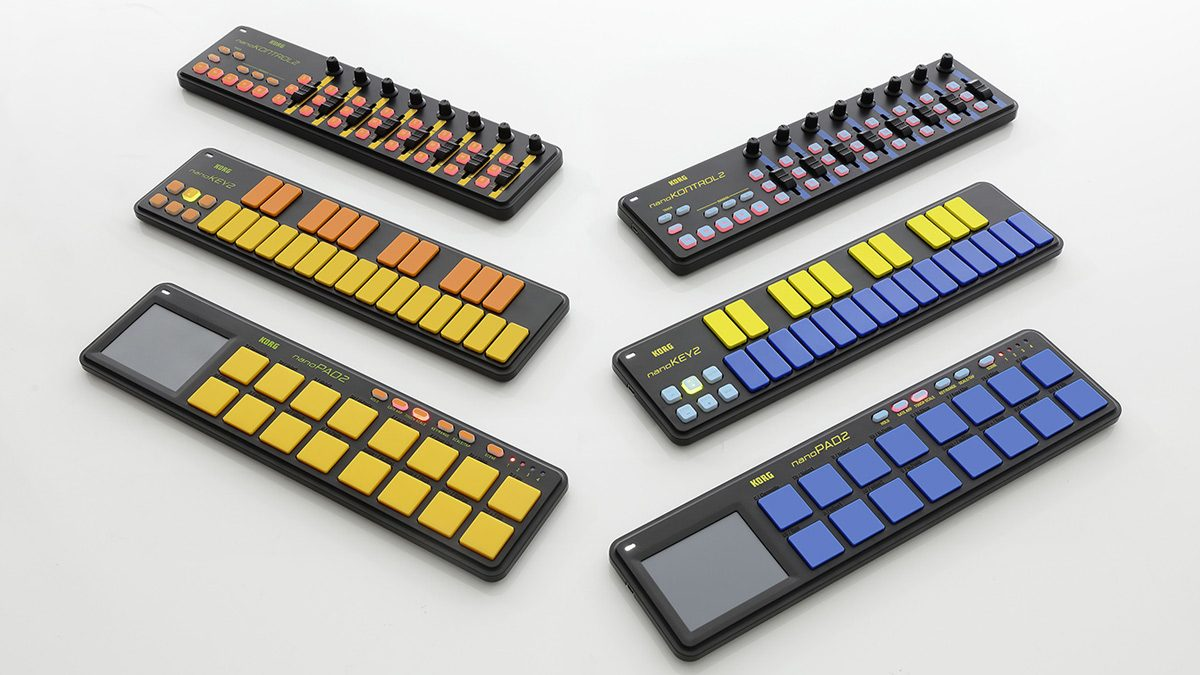 Limited edition of KORG nanoSERIES controllers