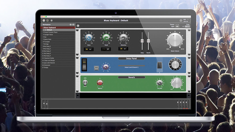 Gig Performer VST for live performance