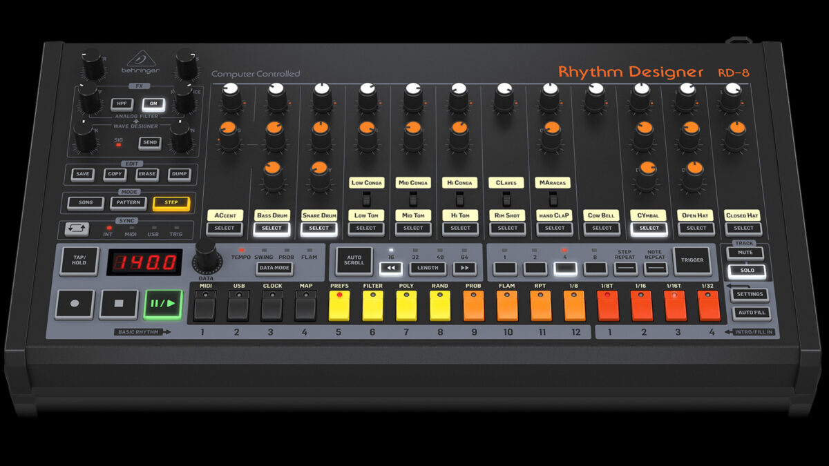 Behringer RD-8 MKII: The most authentic TR-808 clone?